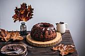 Gugelhupf mit Schokoladen-Ganache