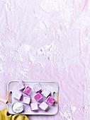 Sweet pink bites