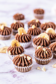 Chocolate Banana Mini Cupcakes