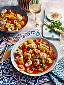 Portuguese caldeirada de peixe