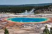 Grand Prismatic Spring, Yellowstone National Park, USA