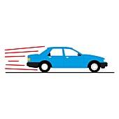 Car, illustration