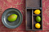 Lemons and mango