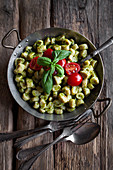 Herb gnocchi