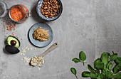 Gesunde Zutaten in der veganen Ernährung