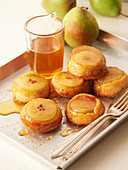 Pear muffins with honey