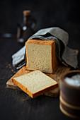 Toastbrot mit französischem Baguettemehl