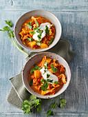 Vegetarisches Kartoffel-Wirsing-Curry