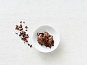 Raw chocolate mousse (vegan)