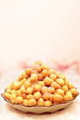 Struffoli - Italian boiled pastries (carnival food)