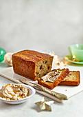 Banana Bread mit Mincemeat (England)
