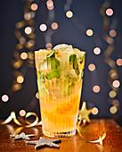 Clementinen-Mojito zu Weihnachten