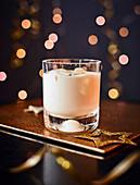 Alkoholfreier Irish Cream Cocktail zu Weihnachten