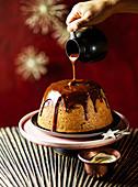 Sticky Toffee Pudding zu Weihnachten