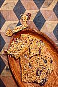 Quinoa-Kekse mit Pecannüssen