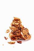 Quinoa cookies with pecans