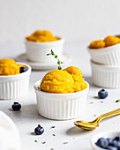 Mango-Zitrus-Sorbet