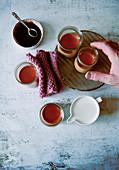 Kürbis-Creme-Caramel