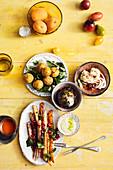 Various Vegetarian tapas