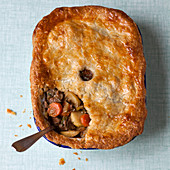 Lamb and apple pie