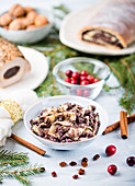 Kluski z makiem - Polish poppyseed and noodle christmas dish