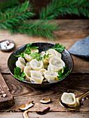 Uszka - Traditional Polish Christmas dumplings