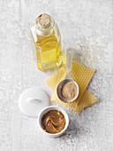 Brustbalsam aus Bienenwachs, Heilerde und Honig