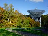 Effelsberg radio telescope, Germany