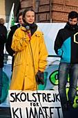 Greta Thunberg, Swedish environmental activist