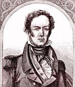 Hugh Clapperton, English explorer, 19th Century illustration
