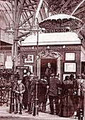 Edison's phonograph demonstration, Paris, 1889