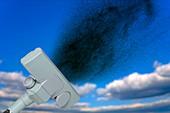 Carbon dioxide removal, conceptual composite image