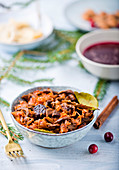 Bigos - Polish traditional dish with sauerkraut for Christmas