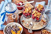 Poppy seed and walnut dessert