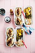 Vegan american barbecue box