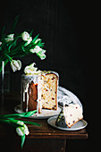 Easter Bread Kulich with Pistachios (Russia)