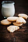 Sugar Cookies with Milk