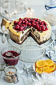 Poppy seeds cheesecake