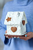 Gingerbread with sugar icing