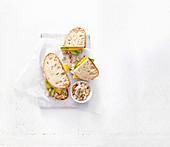 Leichte Hähnchen-Avocado-Sandwiches