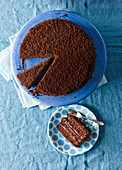Brooklyn Blackout Cake (Schokoladenkuchen, USA)