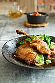Thai duck confit