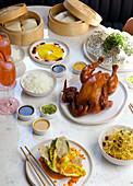 Chinese roast chicken range