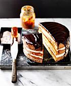 Chocolate Churros cake