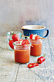 Tomato and watermelon gaspacho