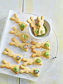 Almond hares (Easter sweets)