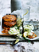 Smoky Tomato and Fetta Fritters