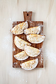 Amaretto and almond pouches