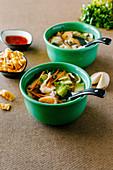 Chinese Wonton soup