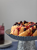 Berry bundt cake